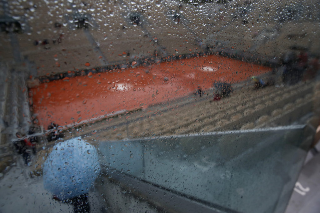 Αναβλήθηκε λόγω… βροχής το πρόγραμμα του Ρολάν Γκαρός! (Photos)