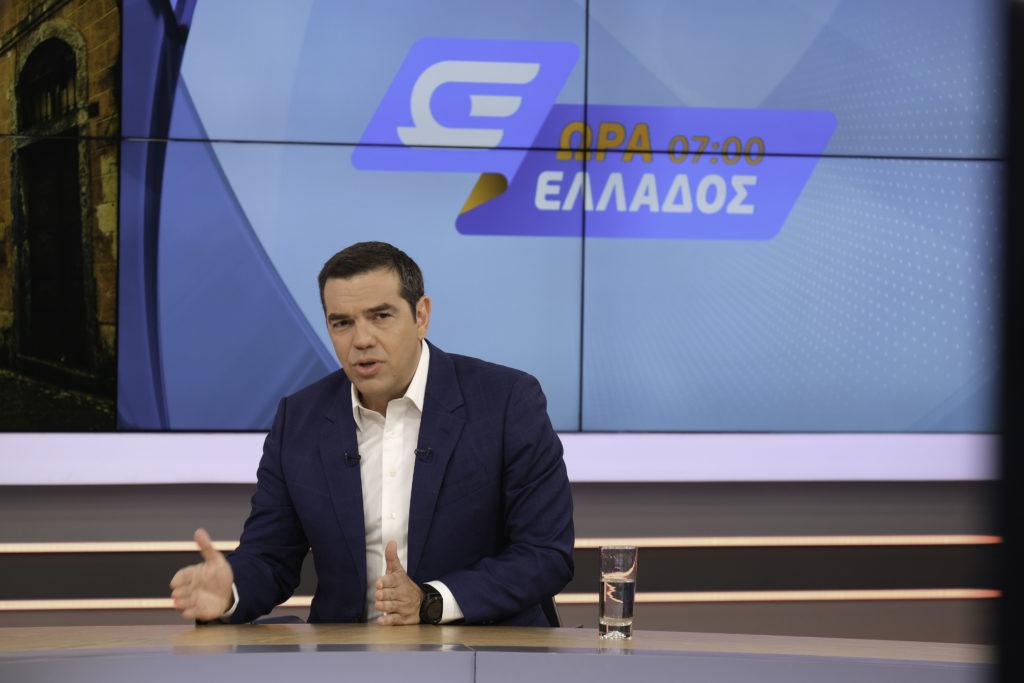 Τσίπρας στο Open: «Απέναντι στην Τουρκία δεν θα κάνουμε βήμα πίσω» (Video)