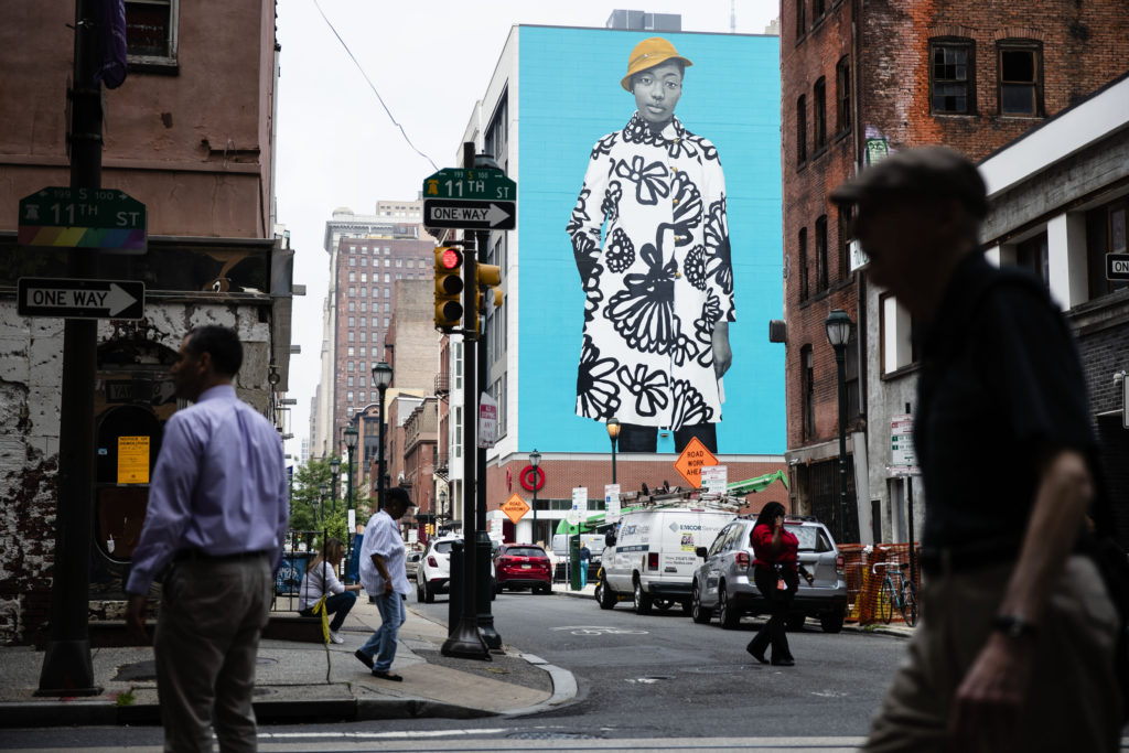 Η Μισέλ Ομπάμα έγινε… τοιχογραφία σε κτίριο στις ΗΠΑ (Photo)