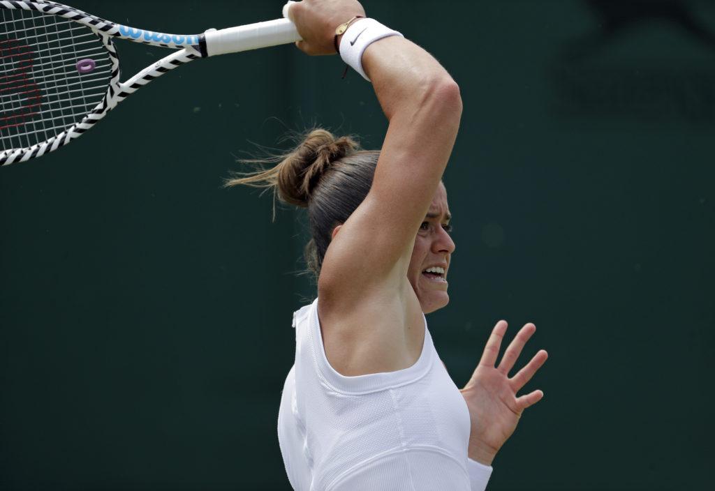 Τένις: Αποκλεισμός για τη Μαρία Σάκκαρη