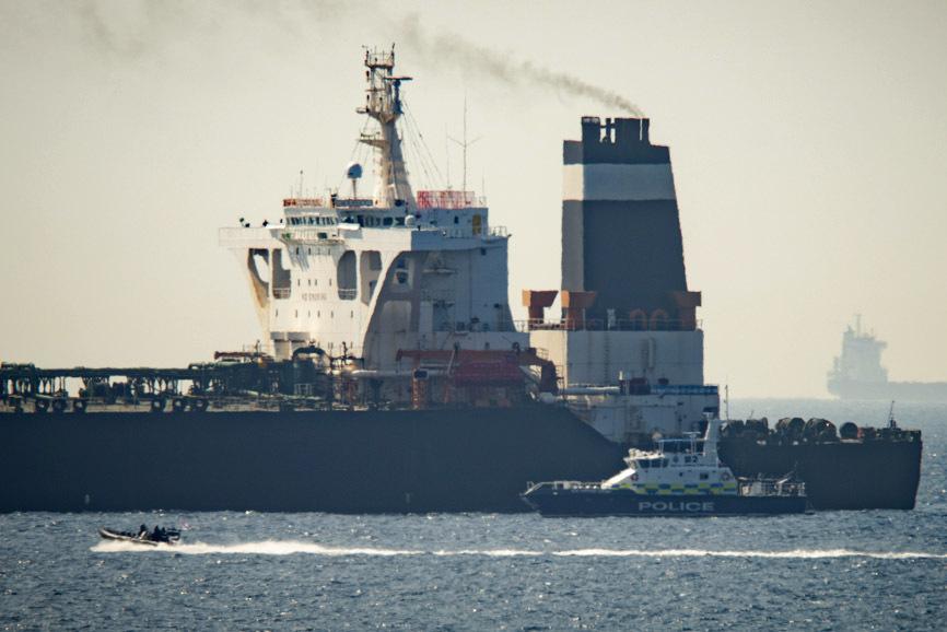 Γιβραλτάρ: Οι ΗΠΑ ζητούν να συλλάβουν το ιρανικό δεξαμενόπλοιο Grace 1