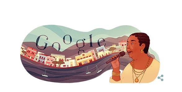 Σεζάρια Εβόρα – Η «ξυπόλητη ντίβα» το σημερινό doodle της Google (Video)