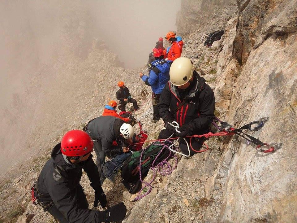 Τραγική κατάληξη για τον 25χρονο ορειβάτη στην Αστράκα Τύμφης – Ανασύρθηκε νεκρός