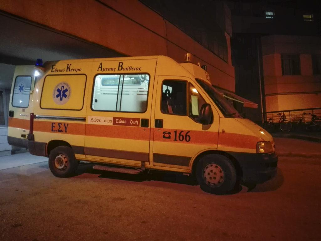 Τραγωδία στη Καλαμαριά, ηλικιωμένος άντρας έχασε τη ζωή του στην εξέδρα