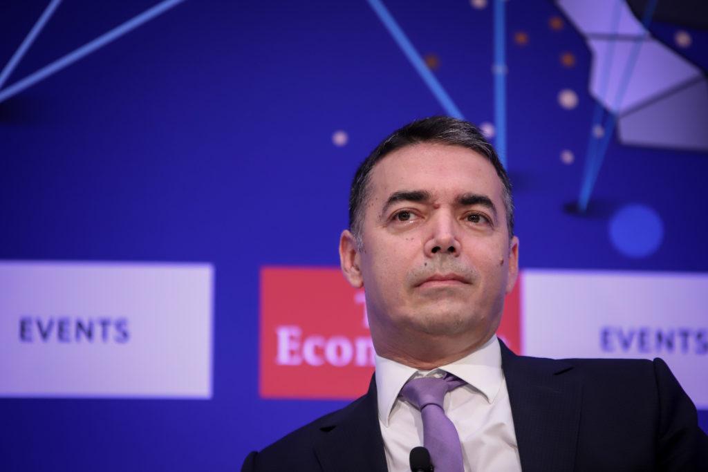 Ντιμιτρόφ: Αναμένουμε ότι τον Οκτώβριο θα λάβουμε ημερομηνία έναρξης ενταξιακών διαπραγματεύσεων στην Ε.Ε.