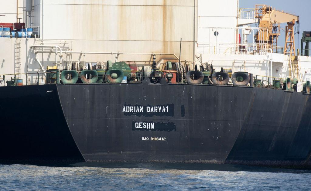 Το Λονδίνο κατηγορεί το Ιράν ότι πούλησε στη Συρία το πετρέλαιο του δεξαμενόπλοιου Adrian Darya 1