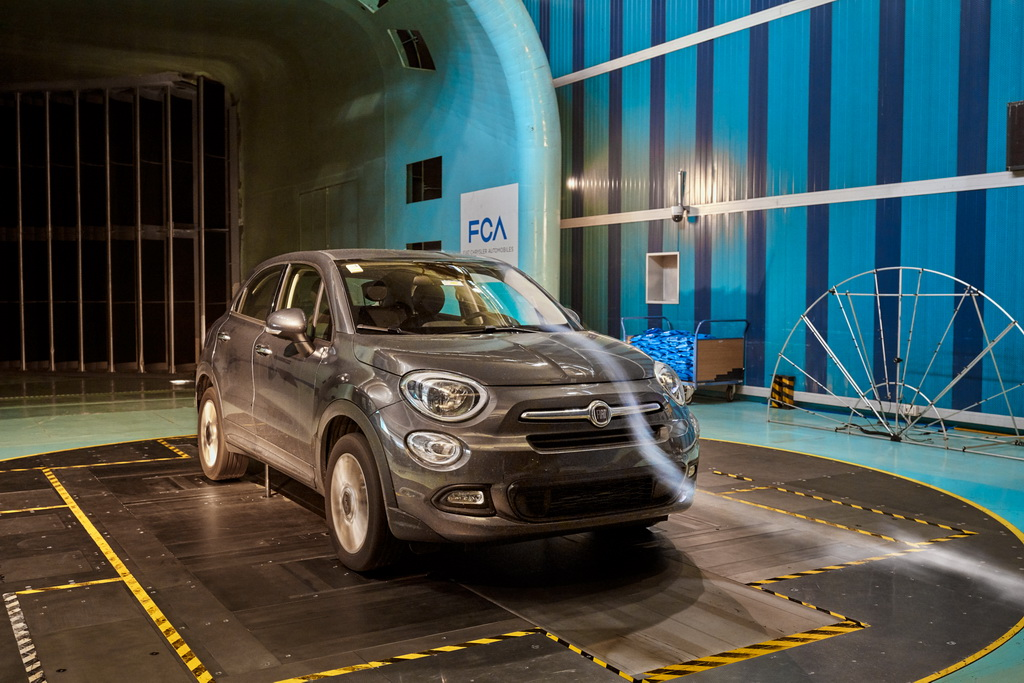 Η FCA μας μεταφέρει στην αεροδυναμική σήραγγα Fiat Orbassano