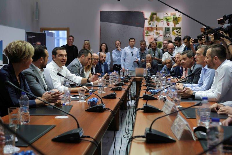 Τσίπρας: Η Διεθνής Εκθεση  Θεσσαλονίκης είναι ένα μεγάλο πολιτικό, οικονομικό και εμπορικό γεγονός