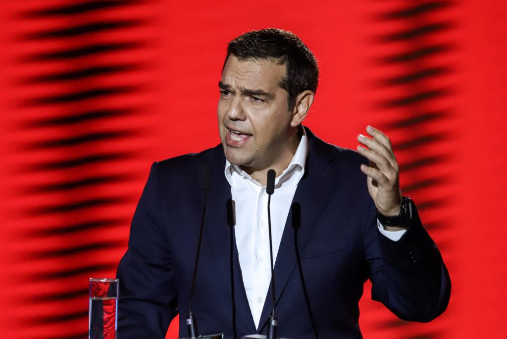 Αλ. Τσίπρας: Είμαστε εδώ ως ο ισχυρός δημοκρατικός και προοδευτικός πόλος