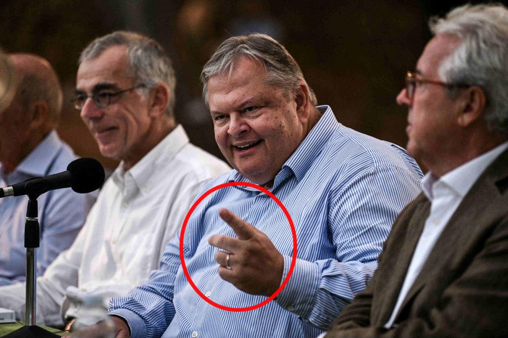 Βενιζέλος: Κουνάει το δάχτυλο για Novartis αλλά στο παρασκήνιο ψάχνει «ρόλο»