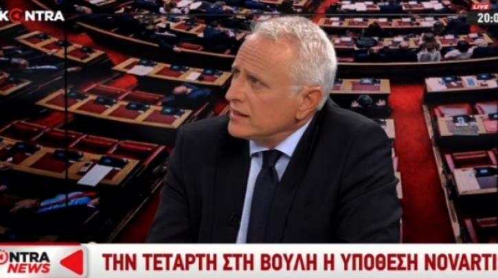 Ραγκούσης: Πολιτικοί καιροσκοπισμοί της ΝΔ στην υπόθεση Novartis (Video)