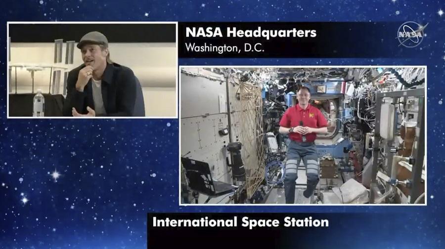 Όταν ο Μπραντ Πιτ μίλησε με τον αστροναύτη Νικ Χέιγκ στον Διεθνή Διαστημικό Σταθμό (Video)