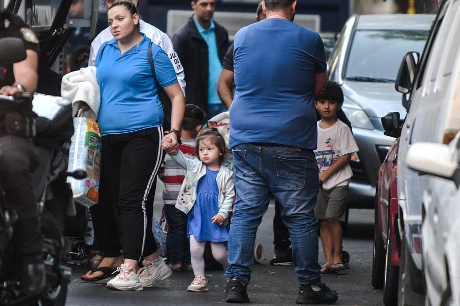 Αστυνομικές επιχειρήσεις εκκένωσης κατάληψης σε δύο κτίρια στην Αχαρνών (Photos)