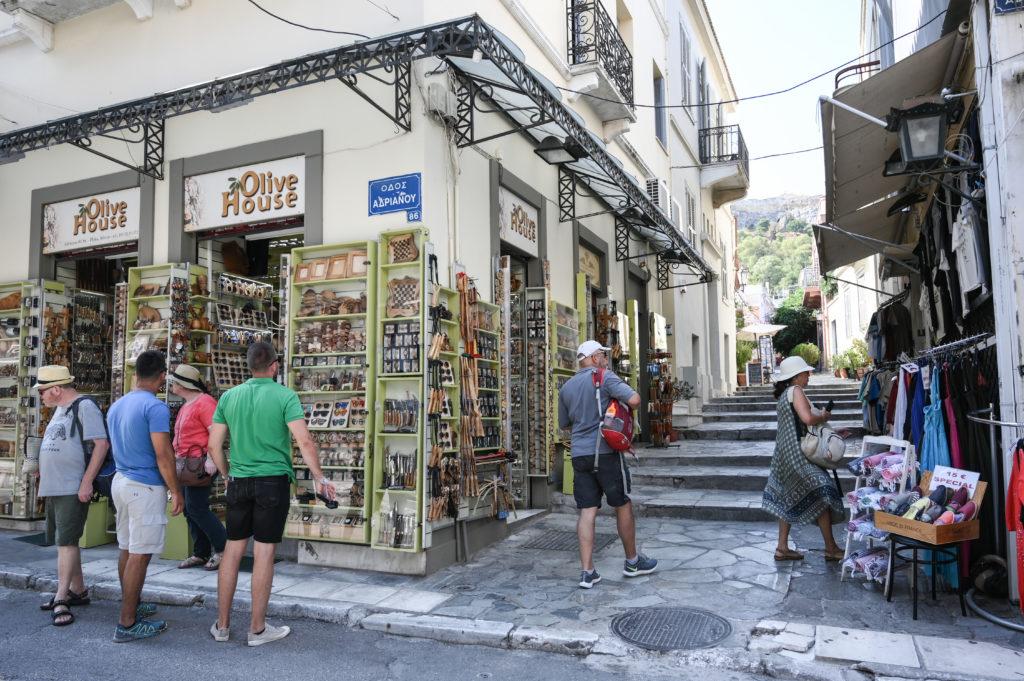 Αύξηση 13,6% στις τουριστικές εισπράξεις στο 7μηνο