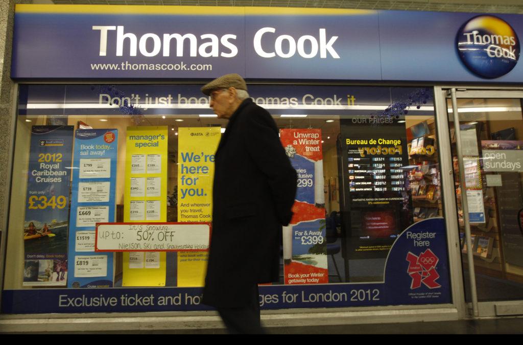 Παράταση 6 μηνών για τις επιχειρήσεις που επλήγησαν από την Thomas Cook