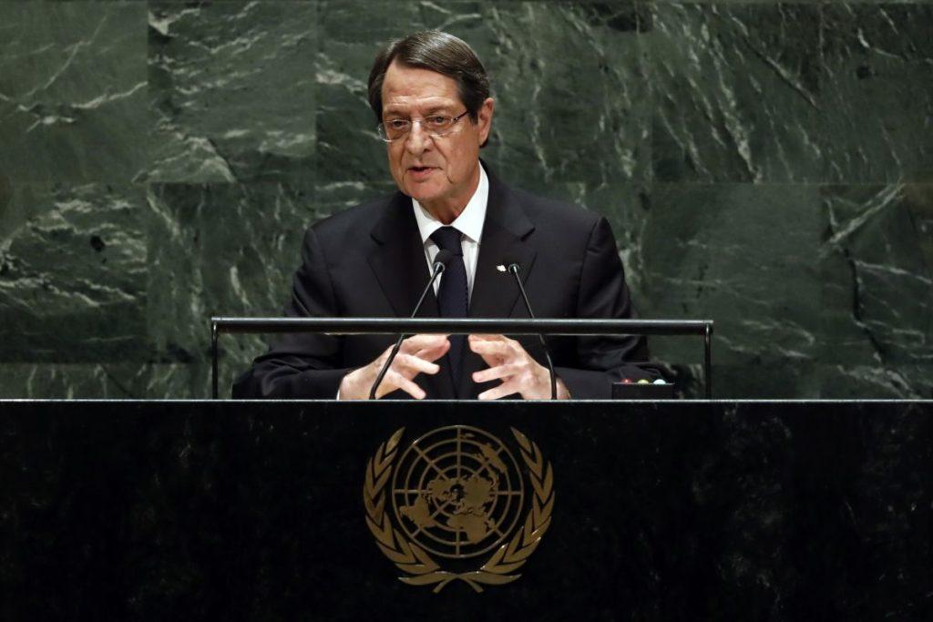Αναστασιάδης: Δεν θα δεχθώ τη διπλωματία κανονιοφόρων
