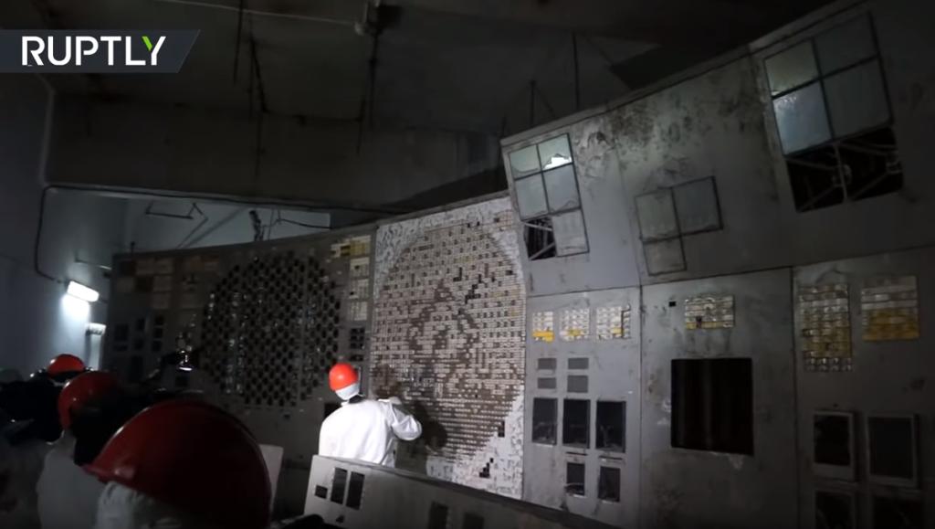 Τσερνόμπιλ: Σπάνιο βίντεο από το εσωτερικό του θανατηφόρου αντιδραστήρα 4