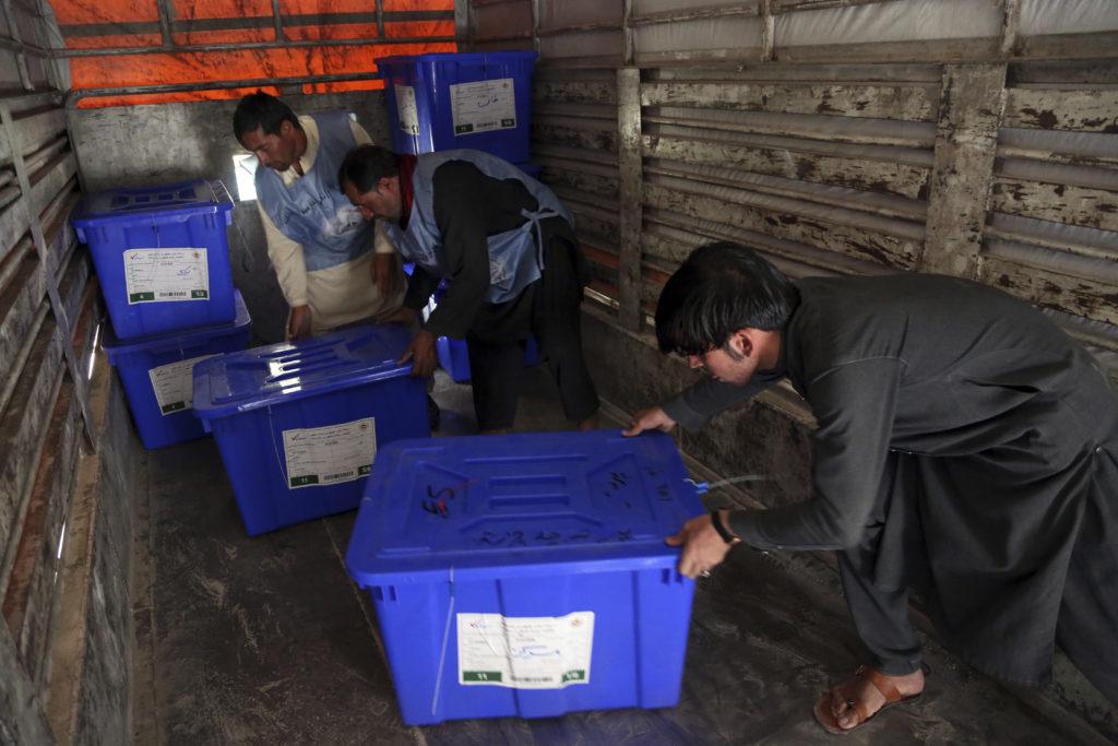 Το Σάββατο οι προεδρικές εκλογές στο Αφγανιστάν