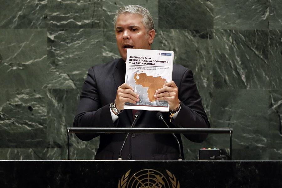 Σκάνδαλο στον ΟΗΕ: Ο πρόεδρος της Κολομβίας έδωσε ψεύτικες πληροφορίες για τη δράση των Κολομβιανών ανταρτών στη Βενεζουέλα