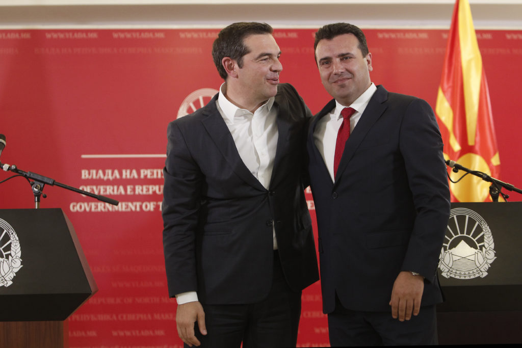 Στη Βόρεια Μακεδονία ο Αλέξης Τσίπρας την Τρίτη