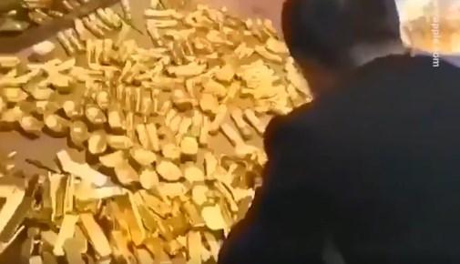 Πρώην δήμαρχος της Κίνας φύλαγε στο σπίτι του πλάκες χρυσού 13,5 τόνων – Κατασχέθηκαν με… φορτηγά! (Video)
