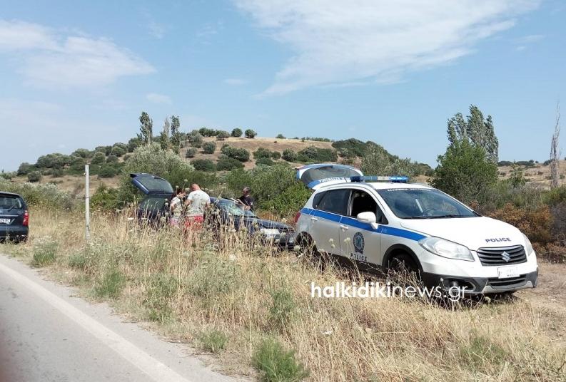Δύο νεκροί σε μετωπική σύγκρουση οχημάτων στη Χαλκιδική