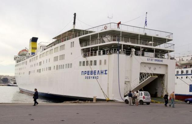 """Στο λιμάνι της Σητείας προσέκρουσε το πλοίο """"Πρέβελης"""" της ΑΝΕΚ"""