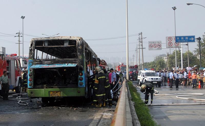 Κίνα: Τουλάχιστον 36 νεκροί σε σύγκρουση λεωφορείου με φορτηγό