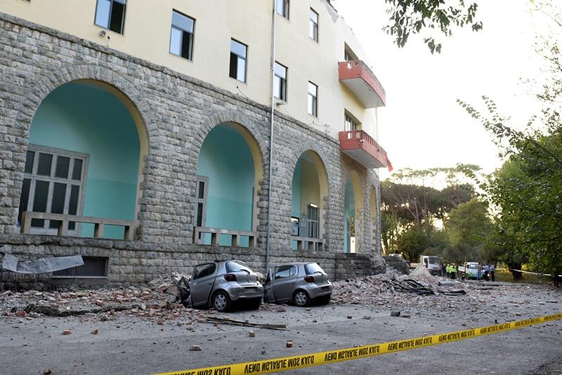 Ανθρωπιστική βοήθεια στην Αλβανία έστειλε η Ελλάδα για τις ανάγκες των σεισμόπληκτων