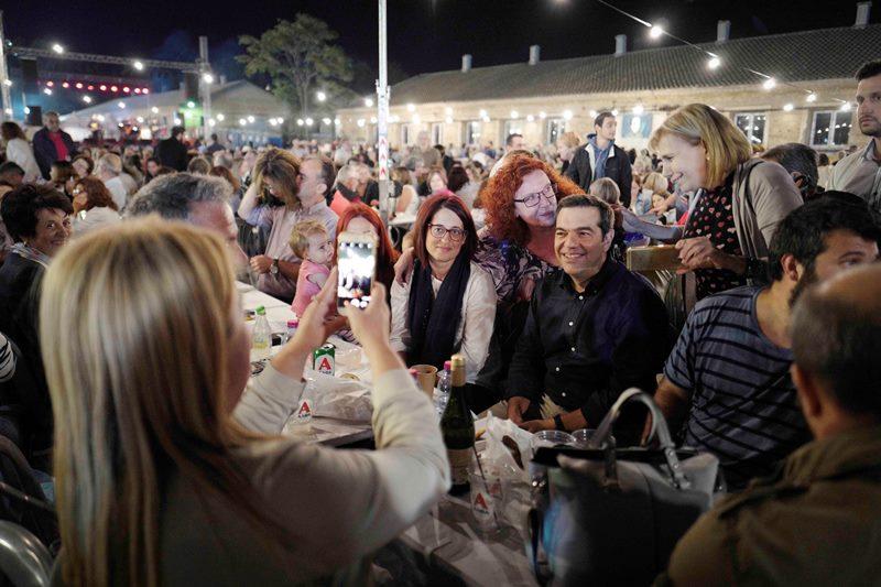 Το φεστιβάλ της νεολαίας ΣΥΡΙΖΑ «Σπούτνικ» επισκέφθηκε ο Αλ. Τσίπρας (Photos)