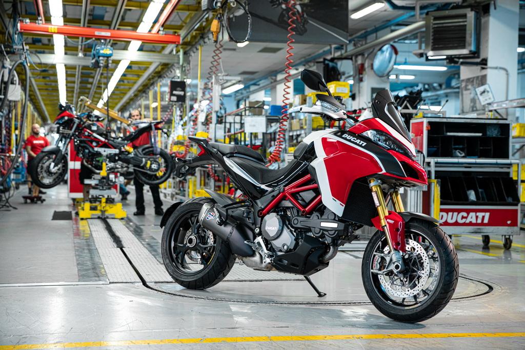 Η Ducati Multistrada έφτασε τις 100.000 μονάδες