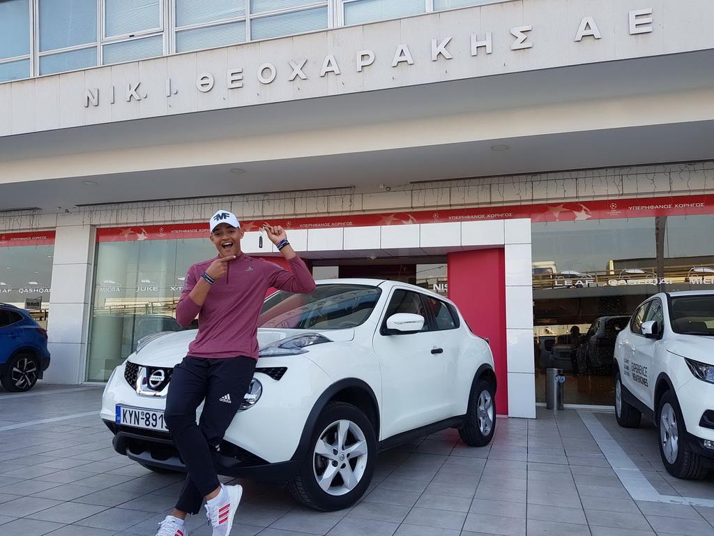 Η Nissan Ν. Ι. Θεοχαράκης στο πλευρό του Καραλή