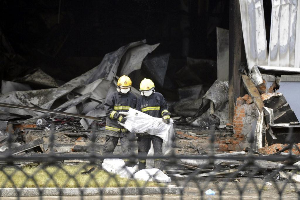 Κίνα: Τουλάχιστον 19 νεκροί από πυρκαγιά σε εργοστάσιο