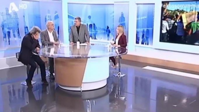 Αδιαθεσία στον «αέρα» για τον Πέτρο Τατσόπουλο (Video)