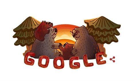 Το σημερινό Doodle της Google αφιερωμένο στην ημέρα του παππού και της γιαγιάς