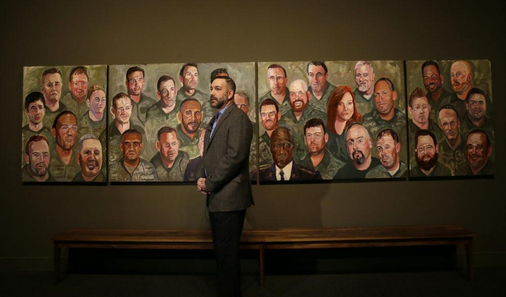 Οι πίνακες του προέδρου Μπους για τους στρατιώτες που έστελνε στον πόλεμο!