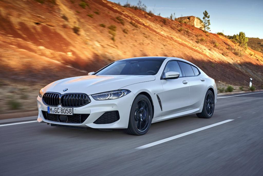 Νέα BMW Σειρά 8 Gran Coupe