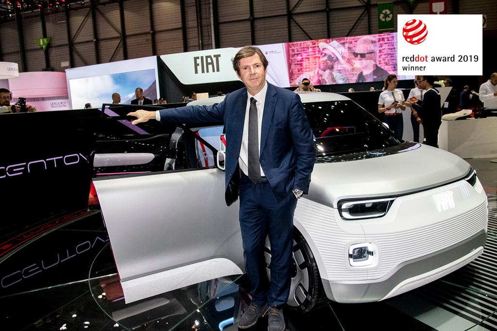 Red Dot Award 2019 για το Fiat Concept Centoventi