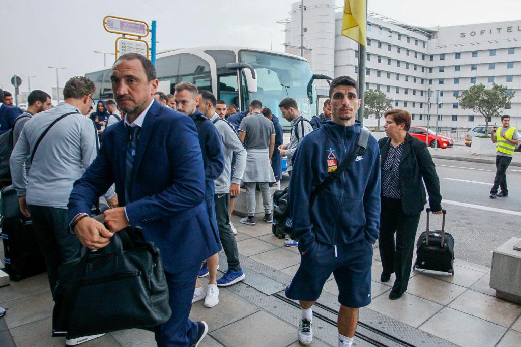 Η εθνική ομάδα αναχώρησε για την Ιταλία