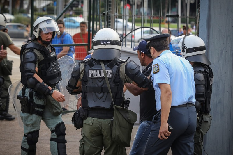 Θεσσαλονίκη: Στο παρά ένα η Αστυνομία σταμάτησε σύγκρουση μεταξύ οπαδών