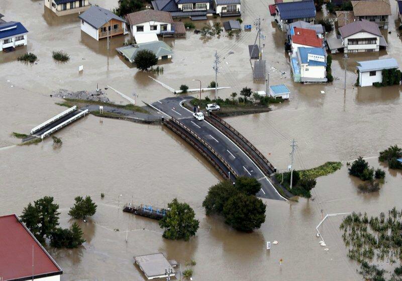Ιαπωνία: 23 νεκροί και τεράστιες καταστροφές από τον χειρότερο ίσως τυφώνα στη σύγχρονη ιστορία (Photos+Videos)