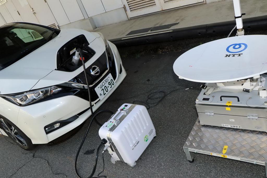 Εξοικονόμηση ενέργειας από τα EV της Nissan