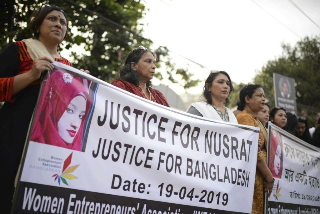 Θανατική ποινή στους 16 που είχαν πυρπολήσει τη 19χρονη Νασράτ