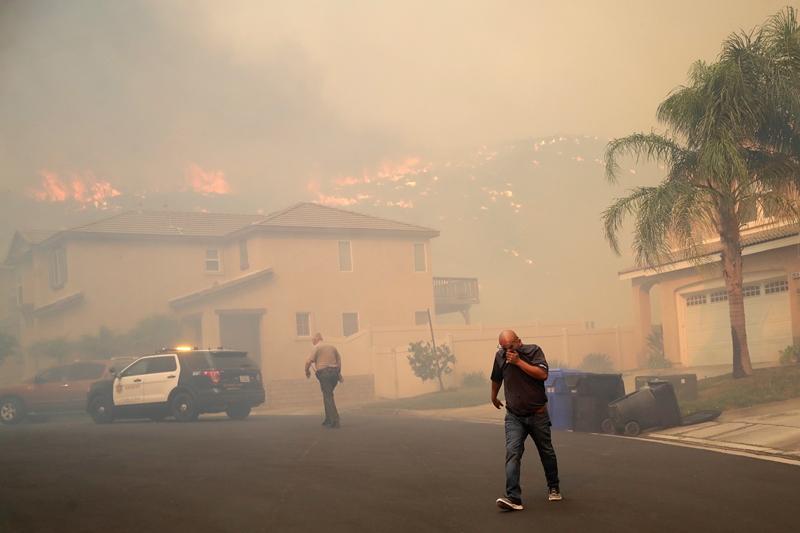 Πυρκαγιές –  Καλιφόρνια: Εντολή εκκένωσης για 50.000 ανθρώπους βόρεια του Σαν Φρανσίσκο