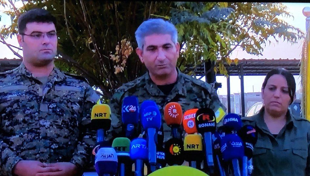 Σε επιχείρηση Κούρδων και Αμερικανών σκοτώθηκε και ο «εκπρόσωπος Τύπου» του Μπαγντάντι