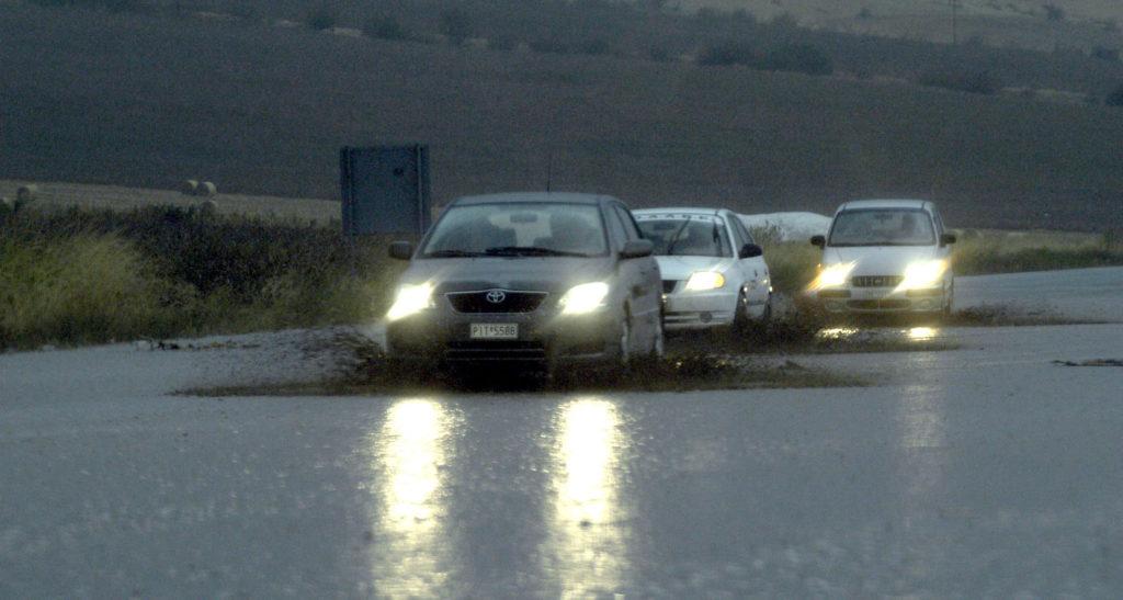 Πέλλα – Κιλκίς: Διακοπή κυκλοφορίας λόγω έντονης βροχής