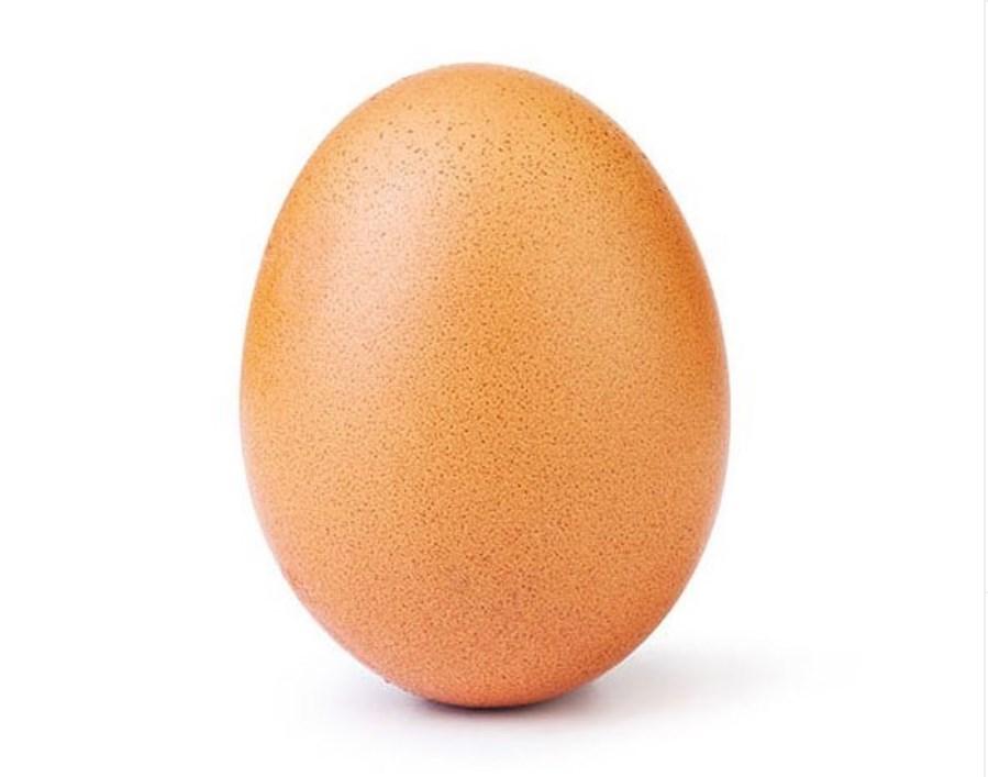 Instagram: Ένα… αβγό ξεπέρασε όλους τους celebrities (Photo)