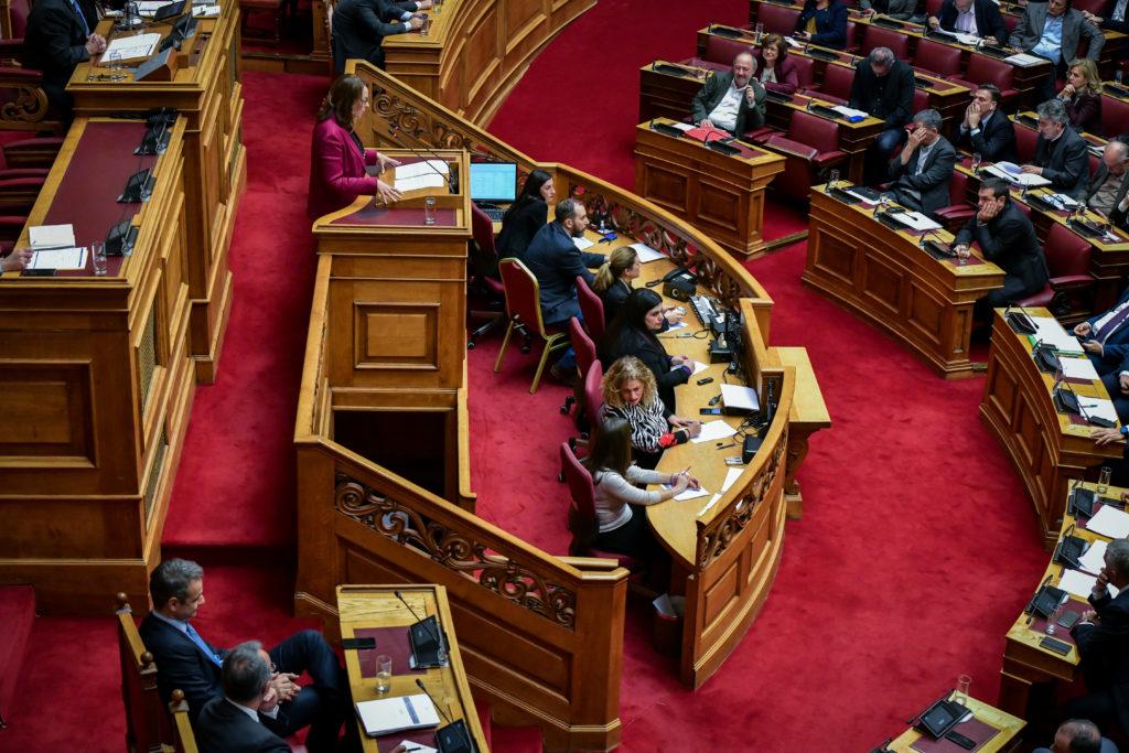 Διαξιφισμοί στη Βουλή με φόντο τον προϋπολογισμό για το 2020