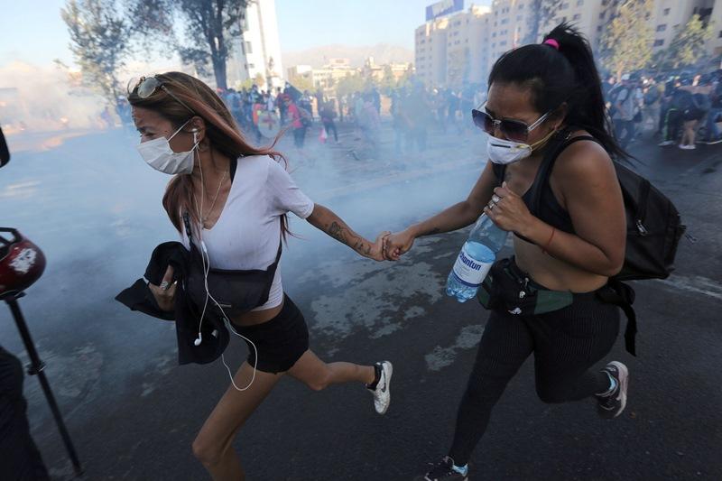 Χιλή: Στους 29 ανήλθε ο αριθμός των νεκρών από τις διαδηλώσεις