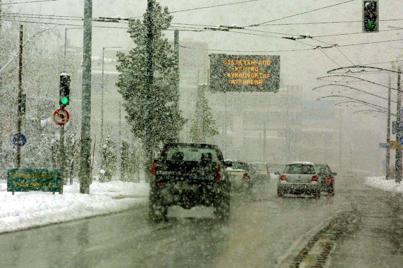 Προληπτική απαγόρευση κυκλοφορίας των φορτηγών στην εθνική Αθηνών Λαμίας – Διακοπή και  στην παλαιά εθνική οδό, στη Μάνδρα